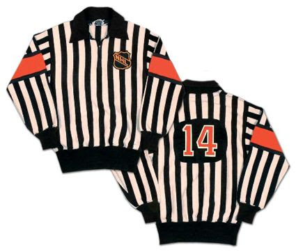 1960's NHL referee's sweater