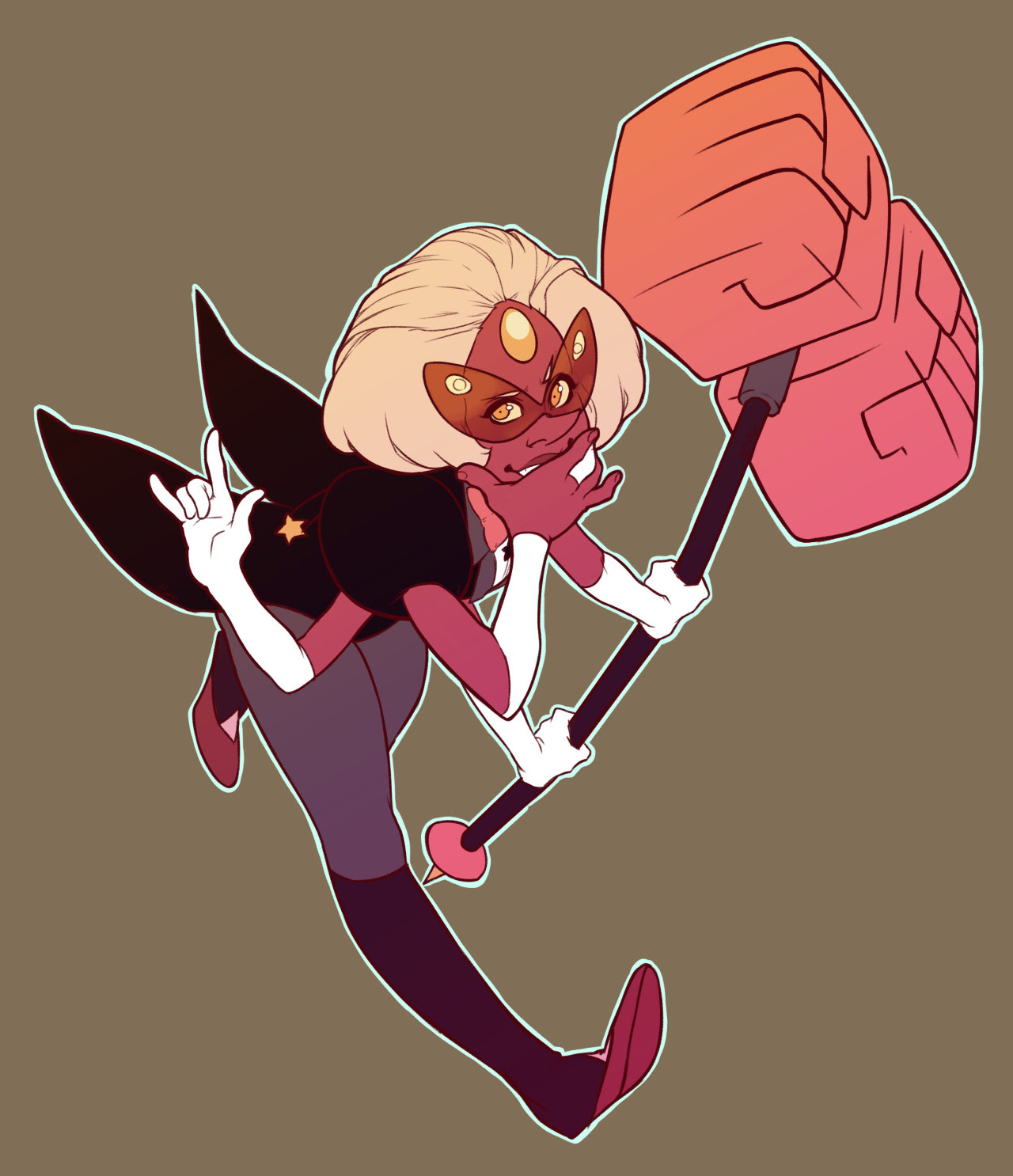 Someone asked for me to draw Sardonyx one more time~ I had fun with this. I'll be putting up a process video for this one sooon~ Who shall I draw next~