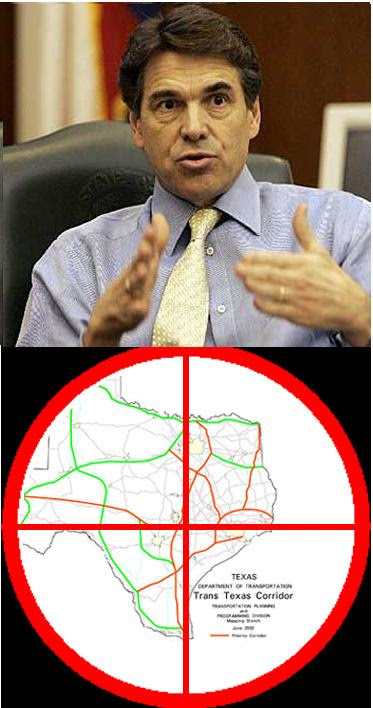 Perry's cross-hairs