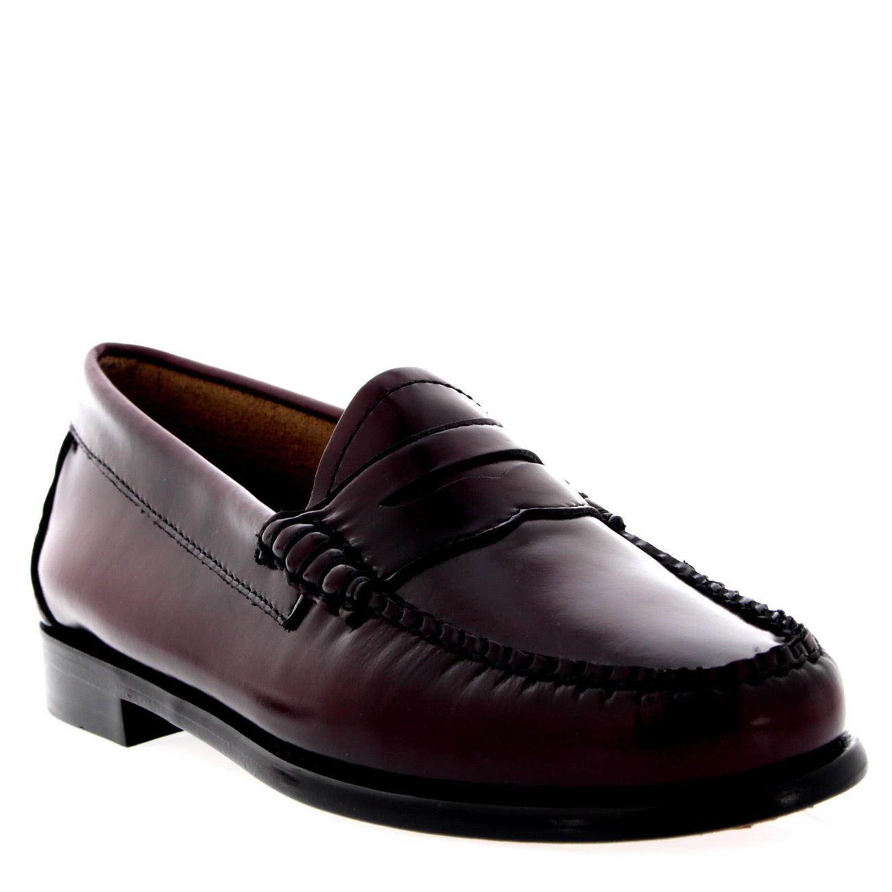 Womens G.H Bass Weejuns Penny Leather Smart Loafers Office ...