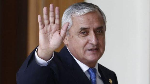 Otto Pérez Molina, el primer presidente desaforado en Guatemala