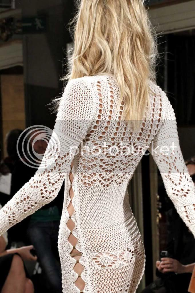 crochet,white
