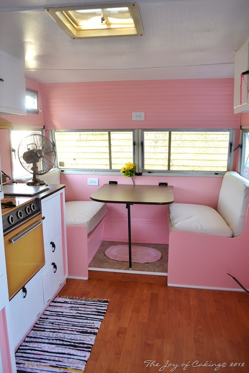 Vintage Camper – Pink Paradise – Update #3 | THE JOY OF CAKING