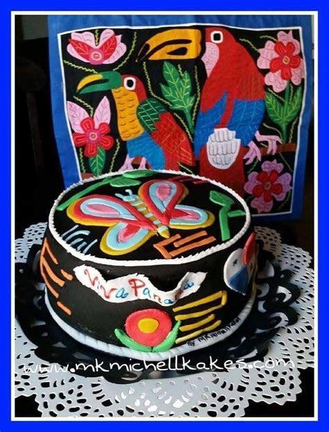 Cake inspirado en las molas, Preciosura! Panama   Panama
