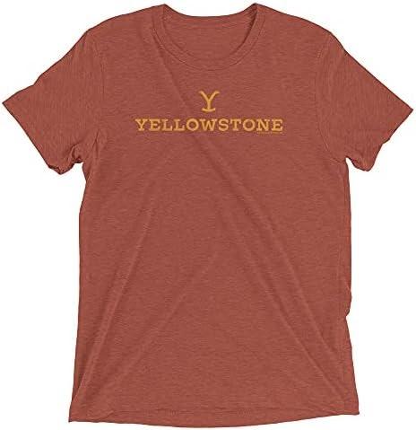 Yellowstone Y Logo Adult Tri-Blend T-Shirt