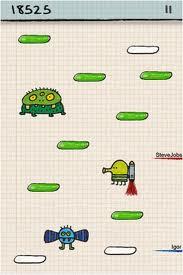 Game Doodle Jump phiên bản cho điện thoại java hỗ trợ cảm ứng