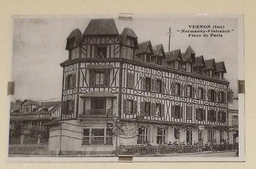 """Hotel Normandy - Vernon - """"Normandy-Plaisance"""" - Place de Paris by ell brown"""