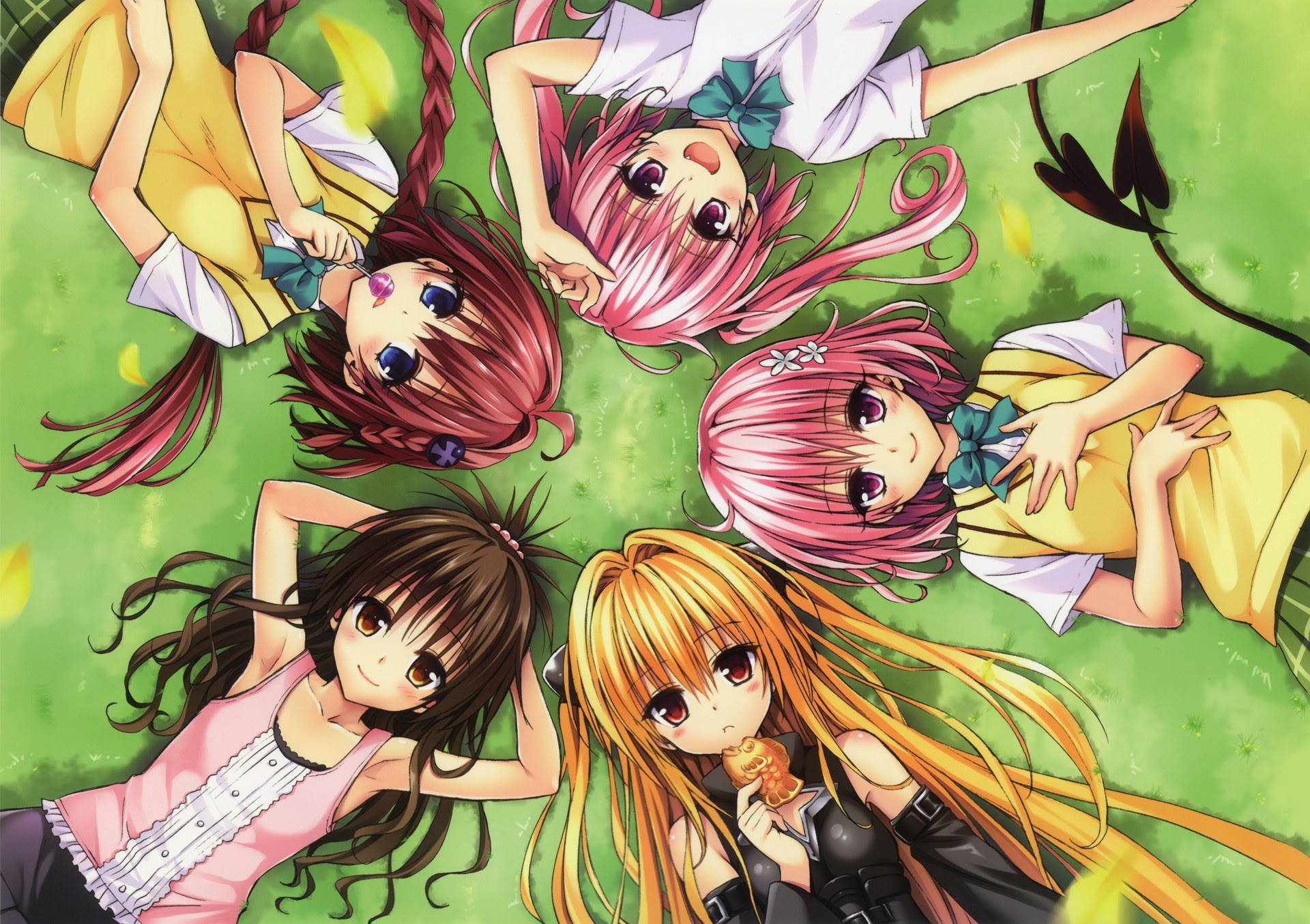 Grass To Love Ru Golden Darkness Seifuku Momo Velia Deviluke Lying