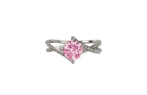 Pink Diamond Engagement Ring   Monty Adams Jewellery