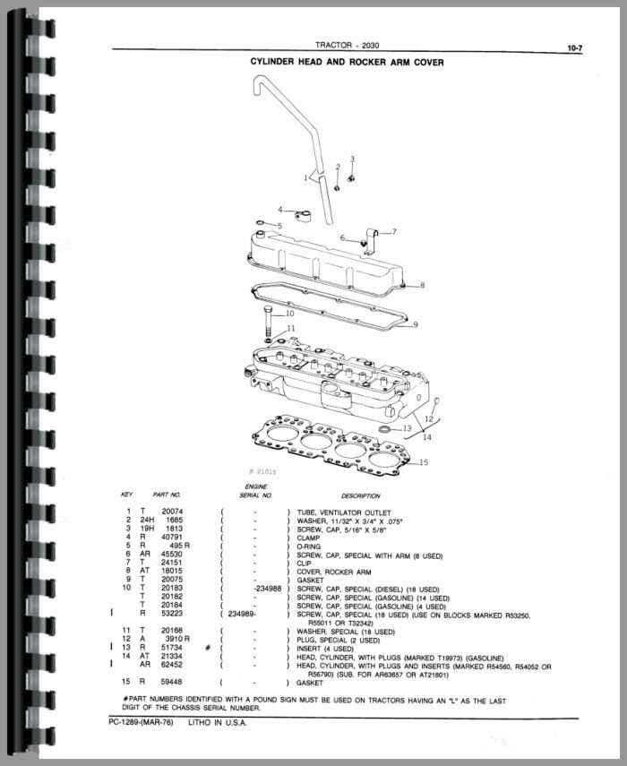 John Deere 185 Parts Diagram