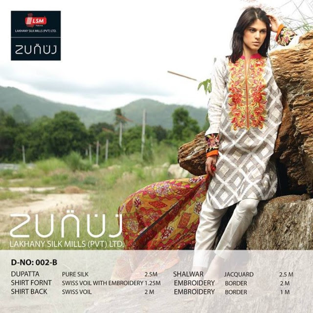 Beautiful-Cute-Girls-Models-Wear-Summer-Eid-Dress-Collection-2013-Lakhani-Silk-Mills-20