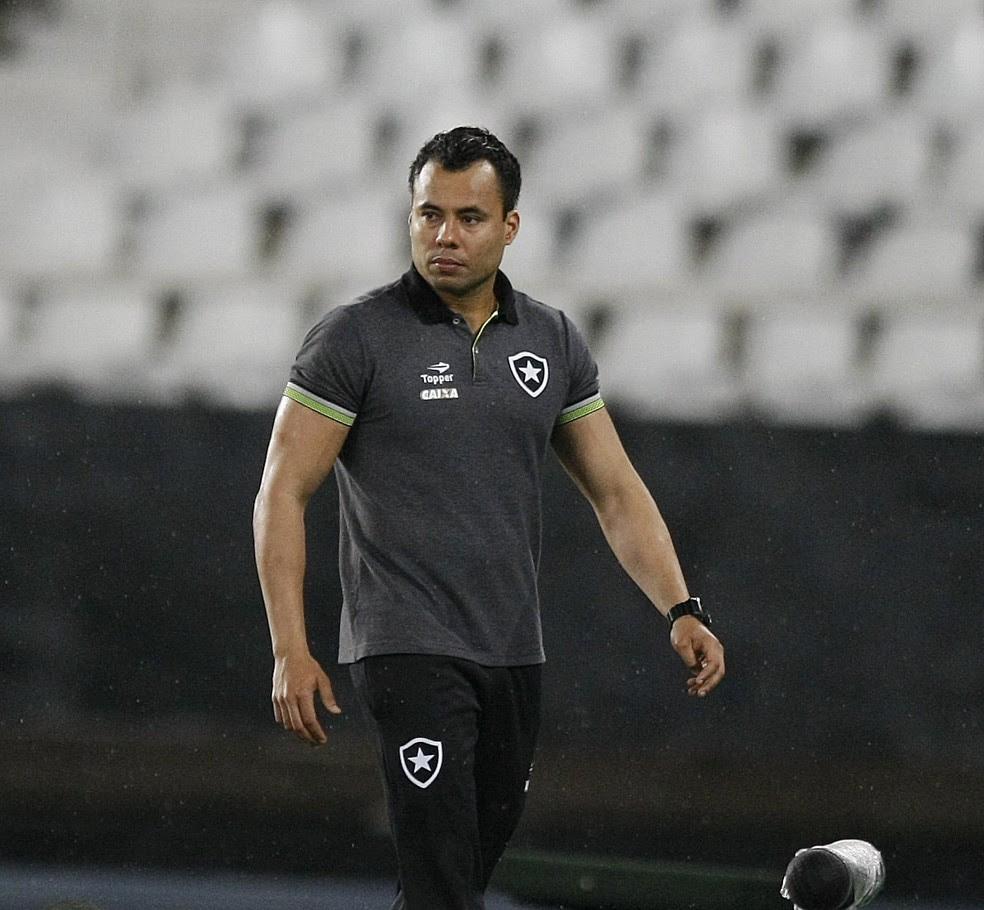 Jair ventura elogiou a intensidade do Botafogo (Foto: André Durão)