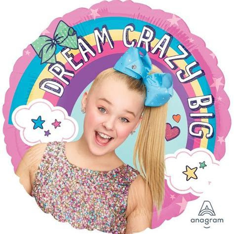 JoJo Siwa Foil Balloon ? Build a Birthday
