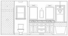 Awesome Bathroom Elevation images