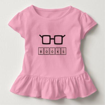 Books chemcial Element Nerd glasses Zh6zg Toddler T-shirt