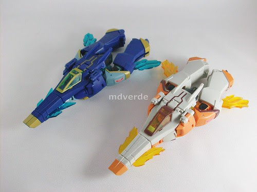 Transformers Jetstorm & Jetfire Animated Deluxe - modo alterno