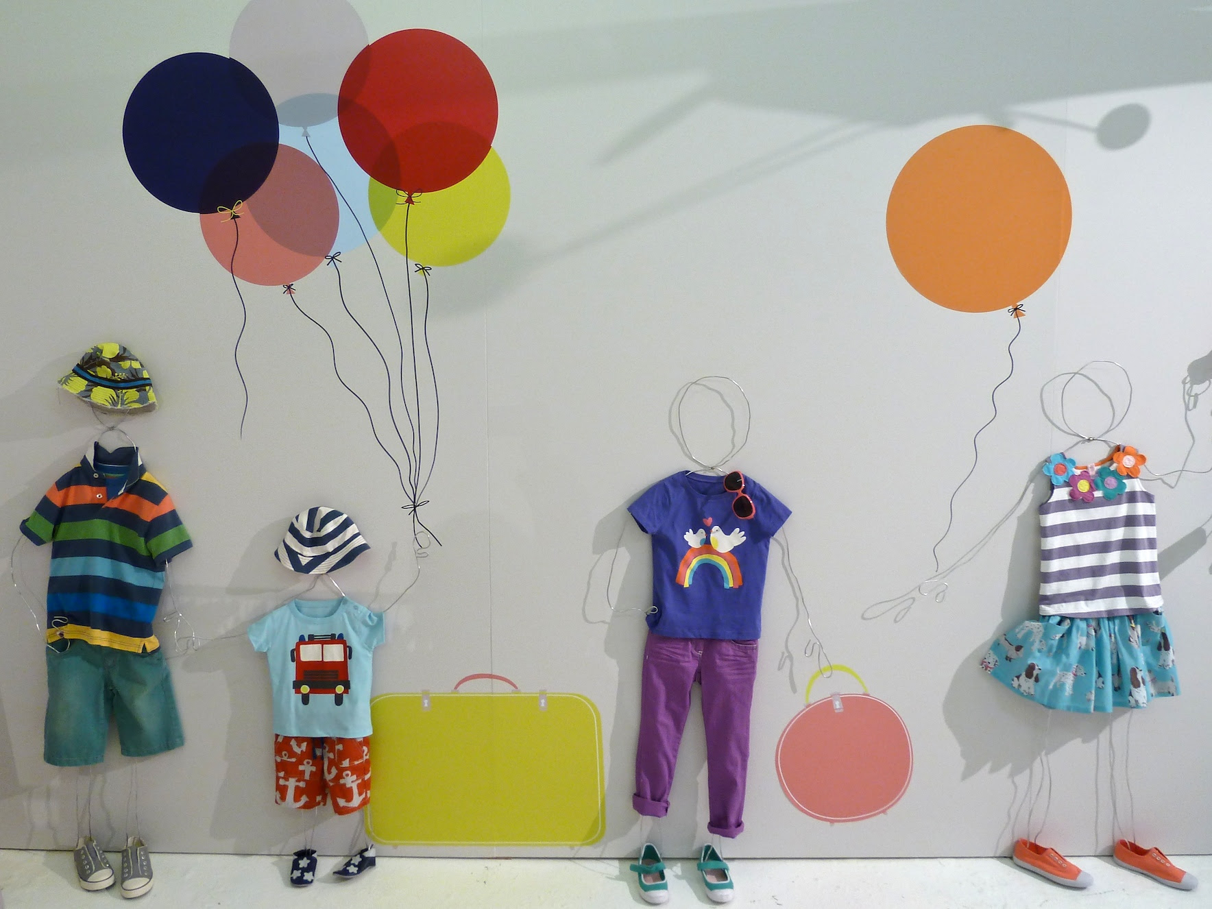 We're all going on a Summer Holiday, themed summer children's  collections at Boden for 2012