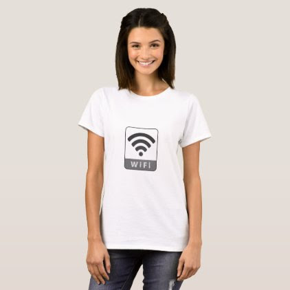 Knitted look wifi sign T-Shirt