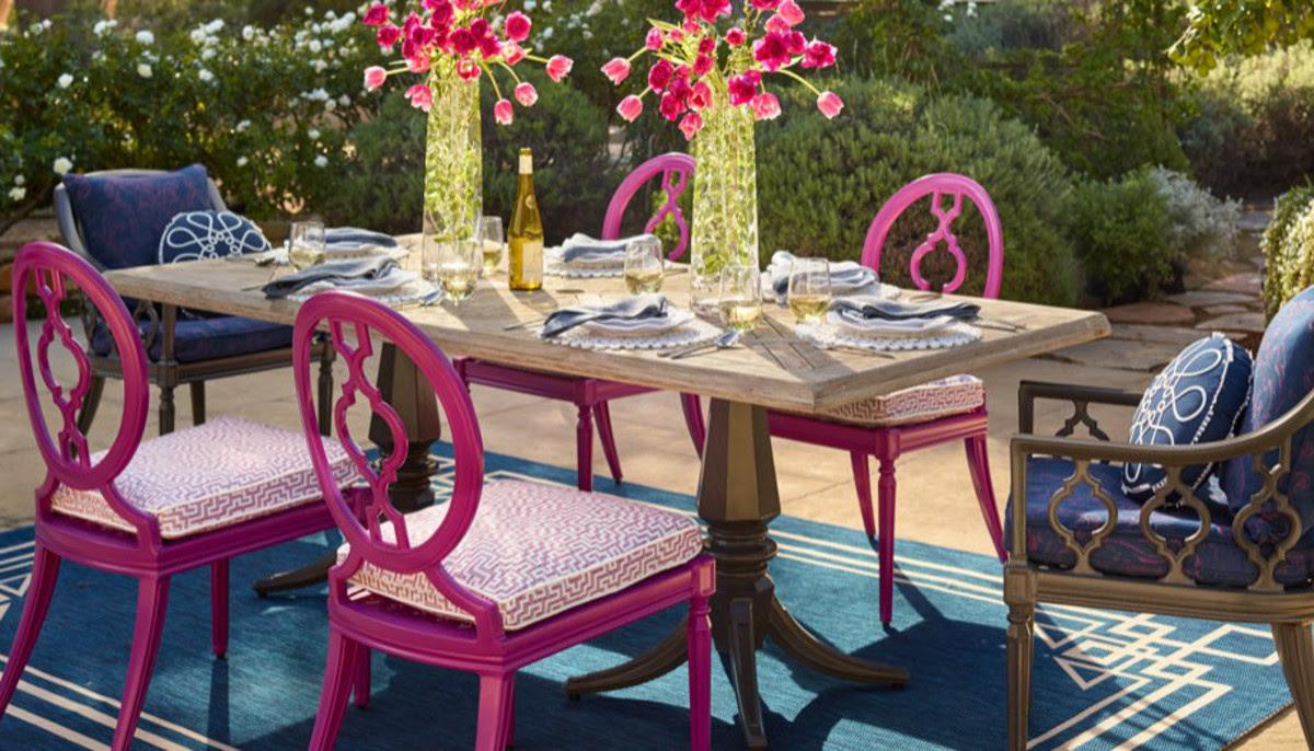 Take a peek inside Frontgate's new home decor wonderland ...