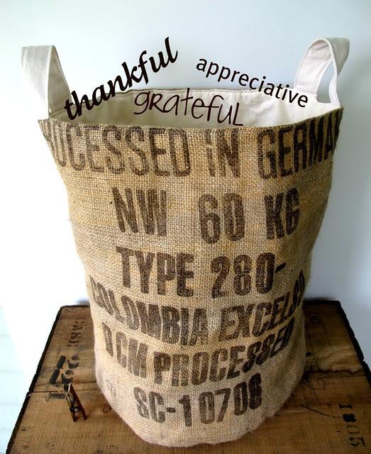 bucket of gratitude giveaway!
