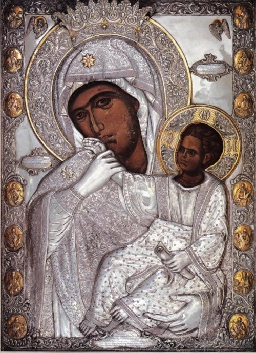 Η θαυματουργός εικόνα της Παναγίας της Παραμυθίας