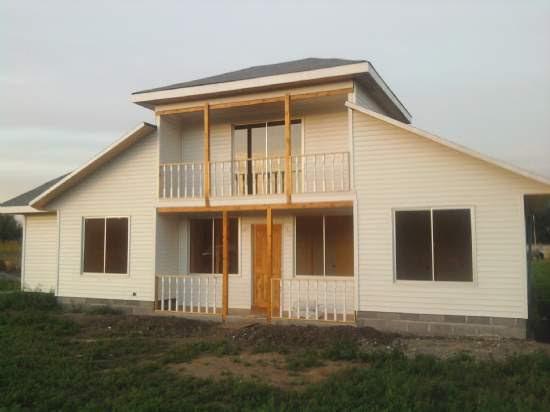 Casas de madera prefabricadas casas prefabricadas americanas llave en mano - Casas prefabricadas llave en mano ...