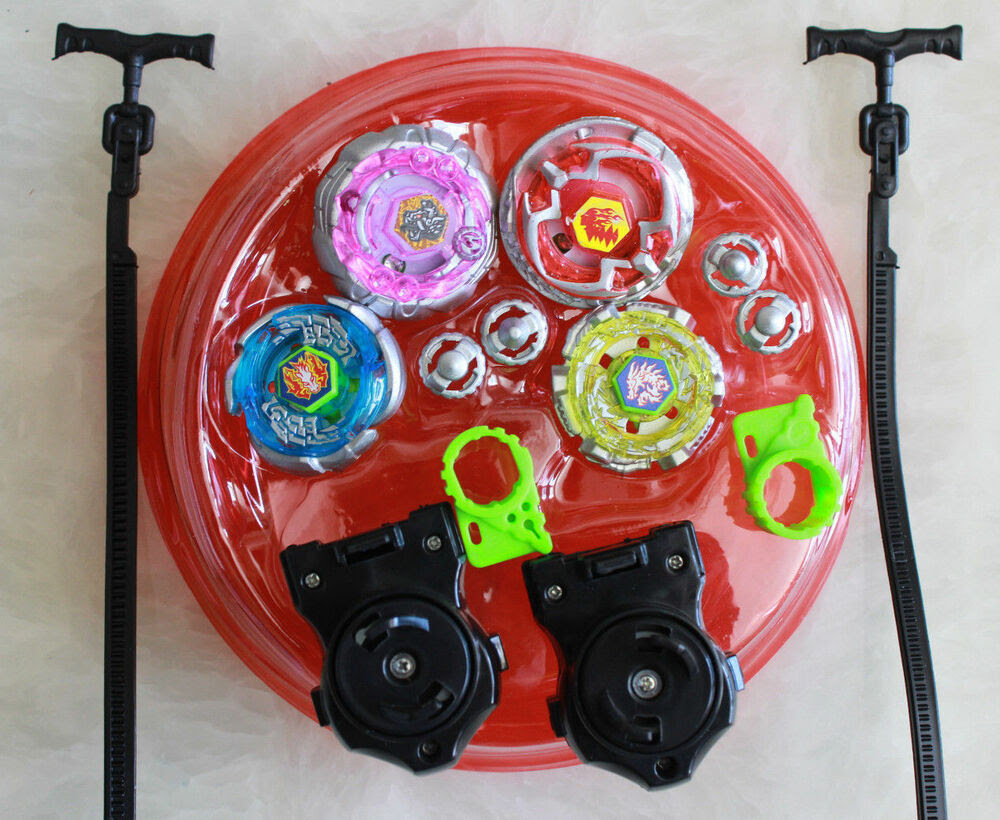 Light Up Metal Master Fusion Rapidity Fight Beyblade ...