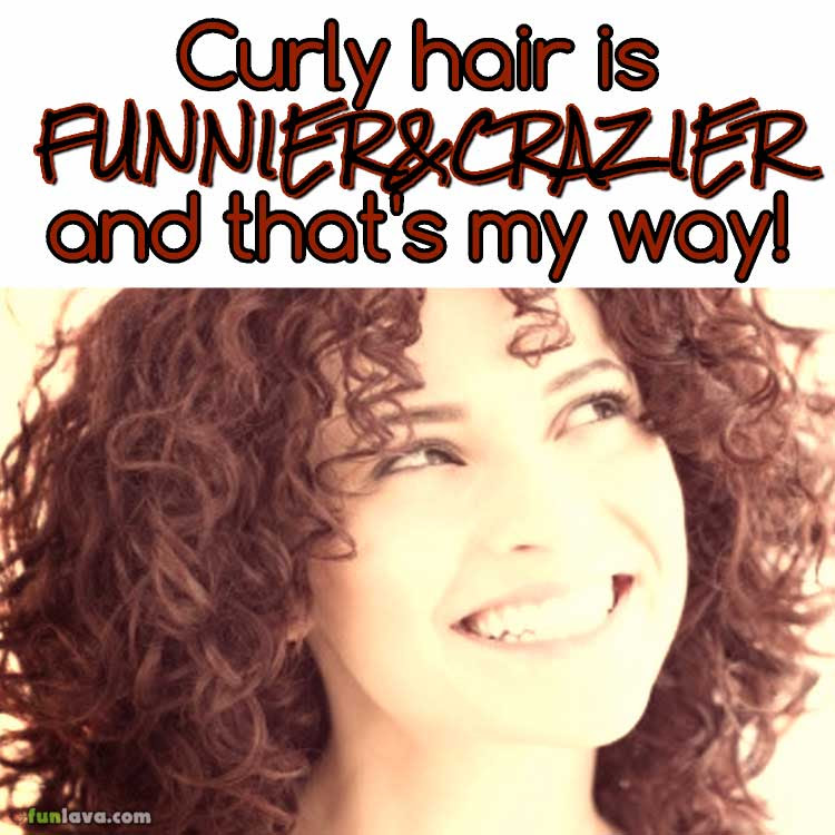 Top 20 Lovely Curly Hair Girls Quotes Sayings