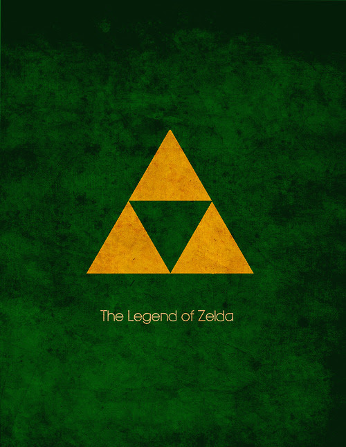 Legend of Zelda Posters by Jesse Carr