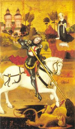 St George German Altarpiece, 1470