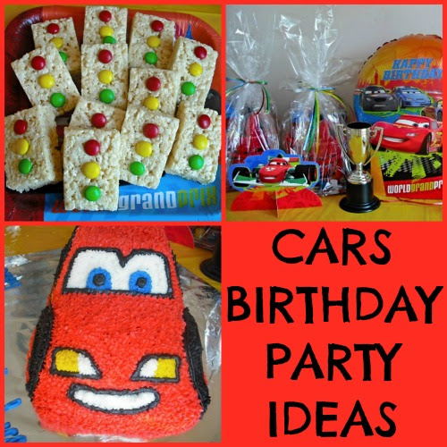 Disney Cars Themed Birthday Party Ideas Making Time For Mommy