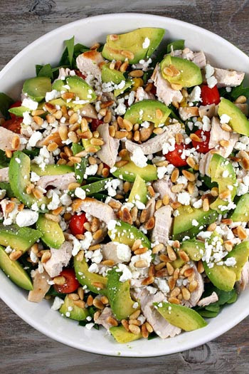 Easy and Healthy Lunch Salad Recipes | Lets Talk Fitness