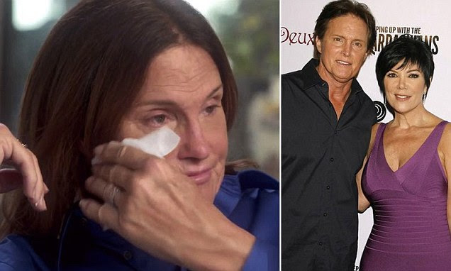 Bruce Jenner reveals he is transitioning to a woman in Diane Sawyer interview