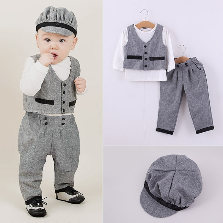 2015 Wholesale Boutique Children Clothing Kids Fall Outfits Boy Three Piece Set Clothes  Buy