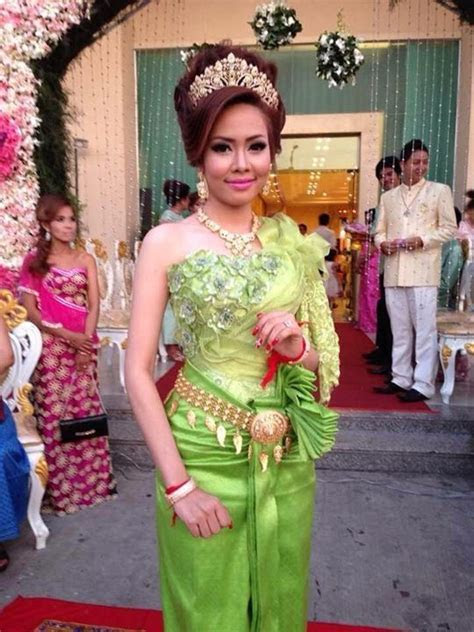 Cambodia wedding dress, #khmer #Bride # traditional dress