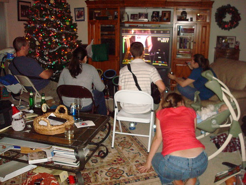 Rock Band at the 'rents