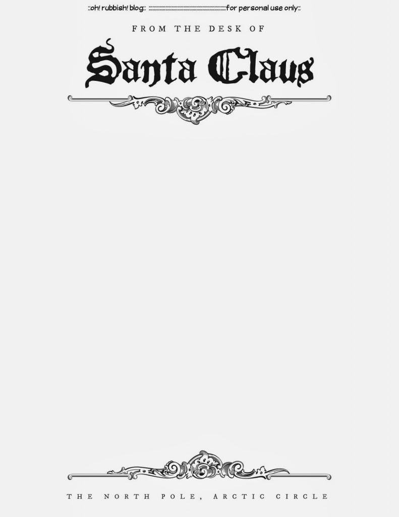 Santa Letter Templates