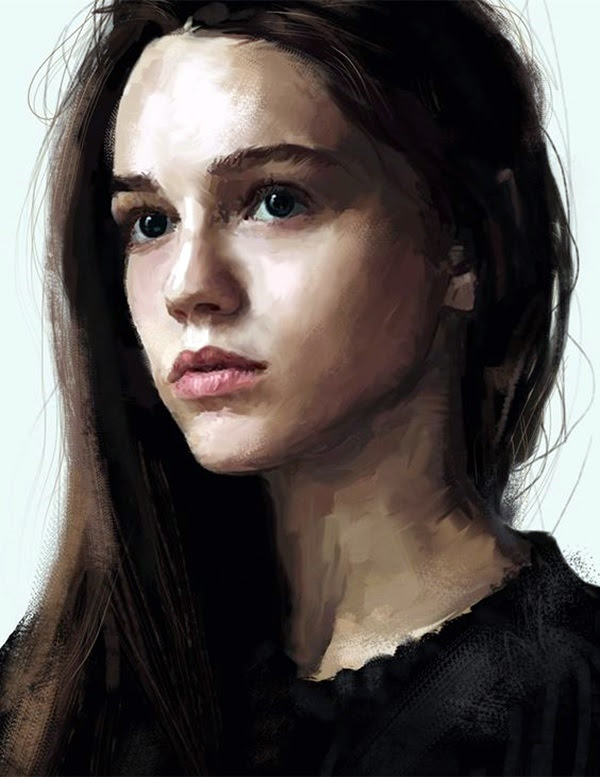 Spectacular Digital Painting Portraits (34)