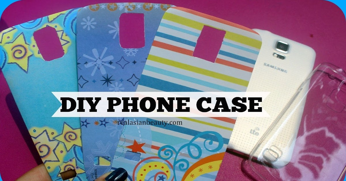 how to make own phone case