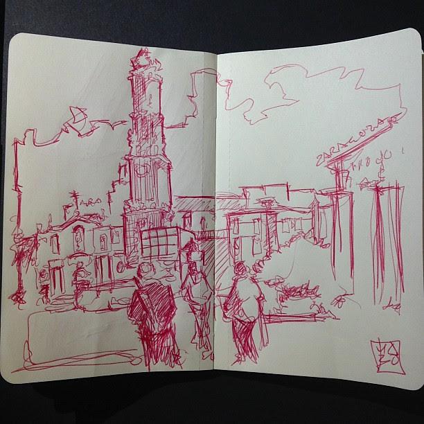From la plaza del pilar ZGZ