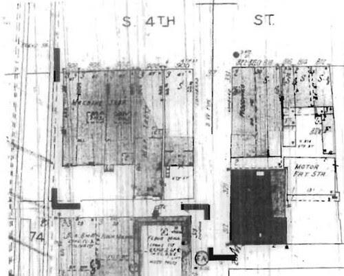 S. 4th Sanborn 1950