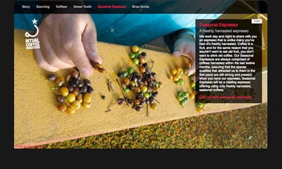 ritual roasters coffee website 30 Sitios web sobre café para inspirarte