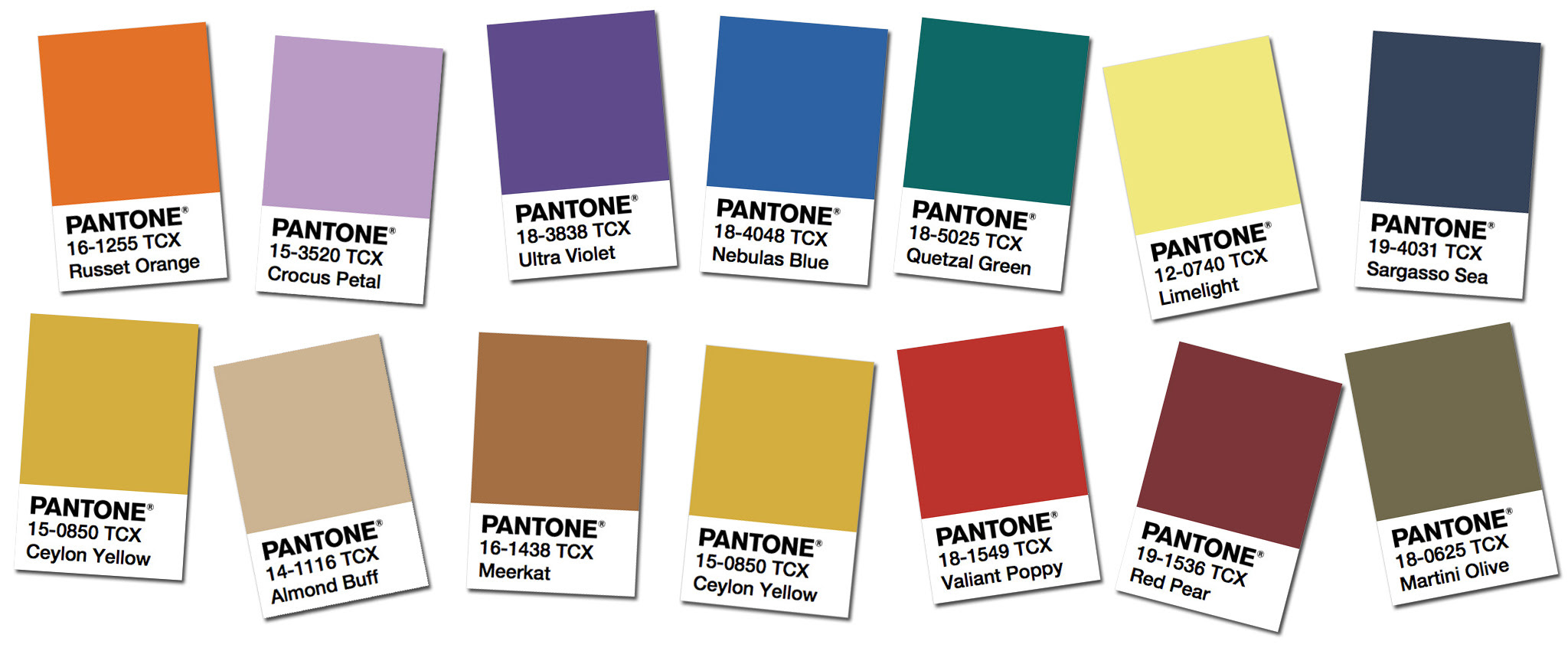 Pantone's Fall/Winter 2018