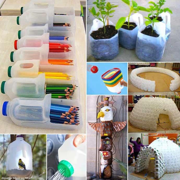 45 Ideas of How To Recycle Plastic Bottles | DesignRulz