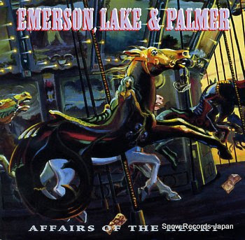 EMERSON, LAKE & PALMER affairs of the heart