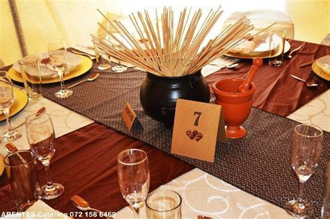 Wedding decor and catering services in South Africa