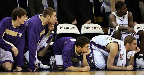 Huskies lose...