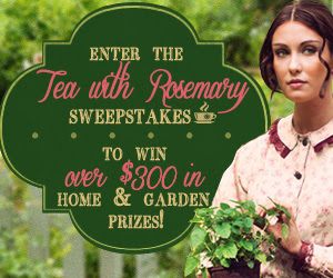 Enter the Tea with Rosemary Sweepstakes
