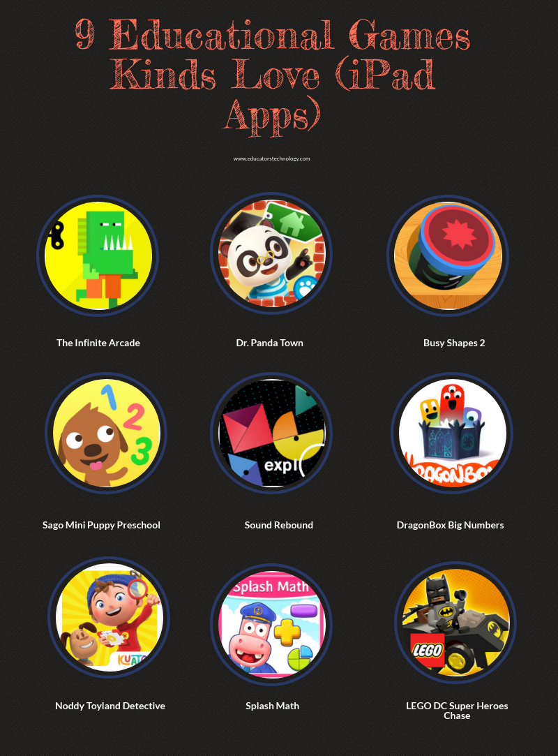 9 Educational Games Kids Love (iPad Apps)