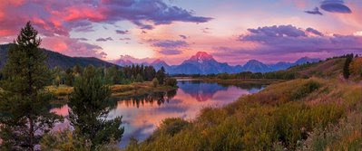Oxbow Bend, WY - Panoramic Final